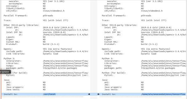 Ubuntu 16 04: Install OpenCV 3 4 4 in Anaconda Tensorflow